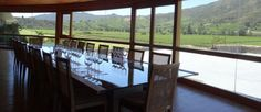#Montes Winery Conference Room overlooking the Apalta vineyards - #Colchagua wine #tours
