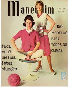 .... Começa a surgir uma moda criada no Brasil. Concursos de beleza e desfiles pipocam e ganham importância. A confecção de roupas por meio de moldes se populariza e cresce.
