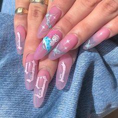 Nail art Christmas - the festive spirit on the nails. Over 70 creative ideas and tutorials - My Nails Nail Polish, Gel Nail Art, Cute Acrylic Nails, Acrylic Nail Designs, Glitter Nails, Manicure Natural, Finger, Pedicure Designs, Nagel Gel