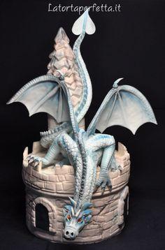 Castle Dragon Cake