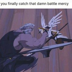 After mercy's new ultimate Battle Mercy will be even more lethal