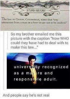 The Doctor... Real?