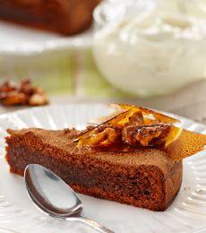 Chocolate Walnut Torte... as long as chocolate & corn flour is gluten free !