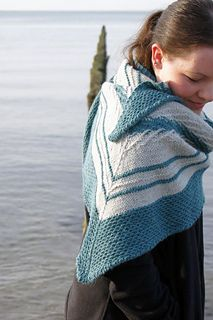 Ravelry: Saltwater Shawl pattern by Stefanie Schuster