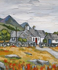 David BARNES artist, paintings and art at the Red Rag British Art Gallery Contemporary Artists, Modern Art, English Artists, British Artists, Monuments, Markova, Naive Art, Landscape Art, Watercolor Art