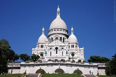 Sacré-Coeur Basilica of the Sacred Heart- Montmartre Above all, Montmartre, an area on a hill in the 18th arrondissement, north of downtown Paris, is known for its many artists who have been omnipresent since 1880. The name Montmartre is said to be derived from either Mount of Martyrs or from Mount of Mars. Until 1873, when the Sacré-Coeur was built on top of the hill, Montmartre was a small village, inhabited by a mostly farming community.
