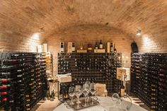wine tasting in Tuscany..