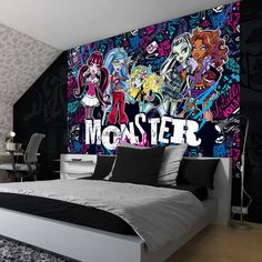 Charmant Monster High Bedroom   Google Search Monster High Beds, Monster High Bedroom,  All Monster