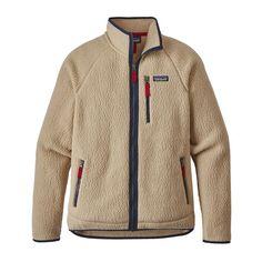 M's Retro Pile Jacket, El Cap Khaki (ELKH)