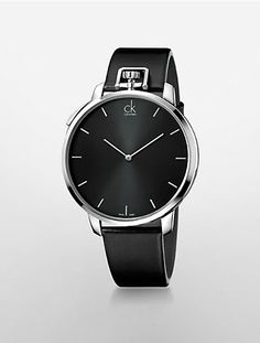 calvin klein exceptional leather strap watch | Calvin Klein Sophisticated Style, Watches For Men, Calvin Klein, Washington, Fragrance, Footwear, Leather, Fashion, Mens Designer Watches