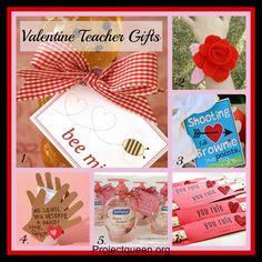 Valentine Teacher Gifts