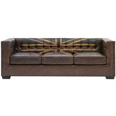 Armstrong Sofa Union Jack - my husband would love this.