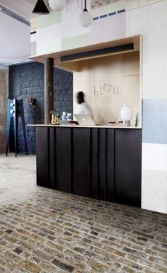 Vinylová podlaha se vzorem na přání, BOCA Group Praha. / Vinyl flooring with individual design, BOCA Group Praha. Vinyl Flooring, Locs, Praha, Cabinet, Storage, Furniture, Design, Home Decor, Products