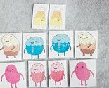 """Home › Search Results › BellaKayArt › S T I C K E R S  Adventure Time - Candy People - Stickers READY TO SHIP           Ready to ship.    A set of *10* super funny tasty """"Candy People"""" stickers!    From the cartoon, """"Adventure Time"""", on Cartoon Network.    Your kids will love you for this! They can give them to friends, slather them on their notebooks, stick one on your car dashboard, wear some on their Aeropostale shirt, keep some in their book bag, stick one on their brown bag lunch, the…"""