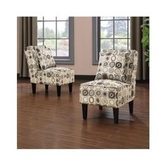 Home Handy Armless Accent Chairs Set Of 2 Furniture Comfort Sitting Living Room #Contemporary