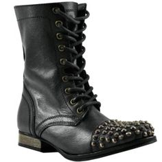 93566dc5c61f Bakers Womens Wild Justice Combat Boot Combat Boot Black 7 Baker Shoes