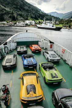 it Cars — Lamborghini Avventura Through the Norwegian. Carros Lamborghini, Lamborghini Huracan, Ferrari, New Sports Cars, Sport Cars, Bugatti, Ford Mustang, Mc Laren, Best Luxury Cars
