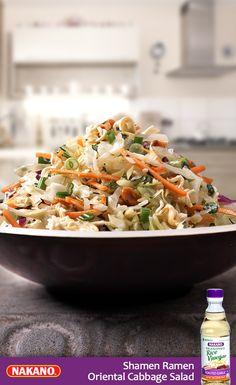 Incredibly delicious Shamen Ramen Oriental Cabbage Salad