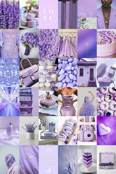 Purple Rooms, Purple Themes, Lavender Aesthetic, Purple Aesthetic, Violet Pastel, Lilac, Photo Wall Collage, Picture Wall, Purple Wallpaper Iphone