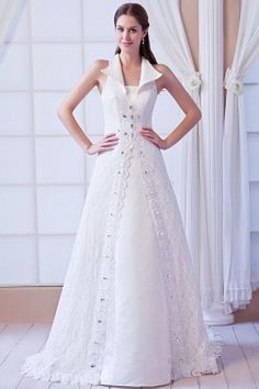 Wedding Dresses online shop offers Affordable A line Square Court Train Lace Beading Wedding Dress features square neckline a line/princess in white color,floor length lace dress with zipper back and court train train for garden / outdoor church hall . Informal Wedding Dresses, 2016 Wedding Dresses, Princess Wedding Dresses, Cheap Wedding Dress, Wedding Dress Styles, Bridal Dresses, Wedding Gowns, Princess Bridal, Ivory Lace Wedding Dress