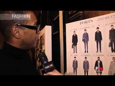 """PORTS 1961"" Backstage Autumn Winter 2014 2015 Menswear Milan HD by Fashion Channel - YouTube"