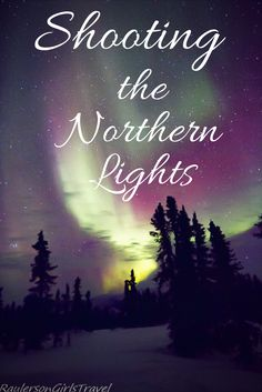 Have you ever wondered how photographers capture the Northern Lights with all those colors? I got to have such an experience