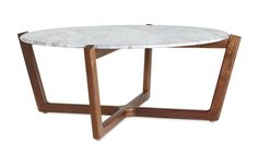 Atlas Coffee Table - Mid-Century / Modern Stone Coffee & Cocktail Table by Design Within Reach