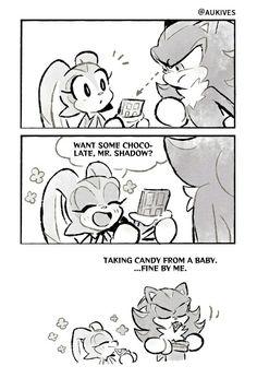 Shadow The Hedgehog, Hedgehog Art, Sonic The Hedgehog, Sonic Funny, Very Funny Memes, Sonic Heroes, Sonic Fan Characters, Sonic And Shadow, The Sonic