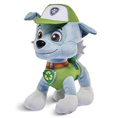 Paw Patrol, Real Talking Rocky Plush -- To view further, visit