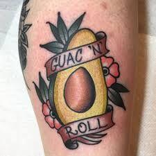 Image result for avocado tattoo