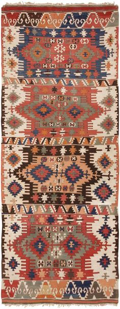 View this beautiful Antique Turkish Kilim 46241 from Nazmiyal& fine antique rugs and decorative carpet collection.