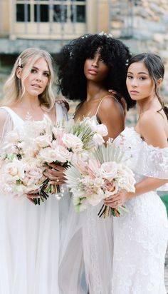 Romantic brides wedding lace Maggie Sottero Wedding Dresses and blush boho bouquets - Belle The Magazine #ad #weddingdress #weddingdresses #bridalgown #bridal #bridalgowns #weddinggown #bridetobe #weddings #bride #dreamdress #bridalcollection #bridaldress #dress See more gorgeous bridal gowns by clicking on the photo