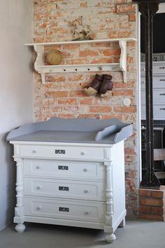 Willkommen Im Babyzimmer Kinderzimmer  Wickelkommoden Antik Und Weitere  Shabby Chic Möbel Im Vintage