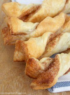 Easy Puff Pastry Cinnamon Twists