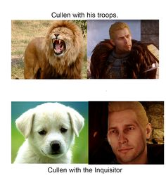 The many faces of Cullen
