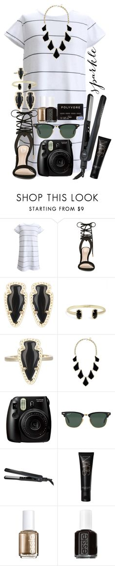 """""""rust me, I know how it feels. I know exactly how it feels to cry in the shower so no one can hear you. I know exactly what it feels like to wait for everyone to be asleep so you can fall apart. for everything to hurt so bad you just want it all to end."""" by reaw ❤ liked on Polyvore featuring ALDO, Kendra Scott, Ray-Ban, Sephora Collection, NARS Cosmetics and Essie"""