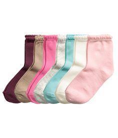 7 paria sukkia   Vaaleanroosa   Kids   H&M FI