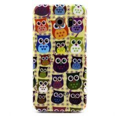 Casify - Kleurrijke Uiltjes TPU Hoesje - Samsung Galaxy S6