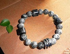 Man. Nature. Black Moonstone. Natural by MountainMagicJewelry