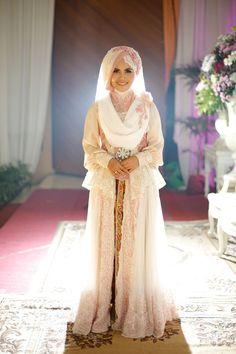 Sweet and Syari Wedding Fikri and Mega by LAKSMI - Kebaya Muslimah & Islamic Wedding Service - 007