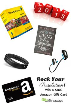 Win a $100 Amazon gift card from FatWallet: http://www.fatwallet.com/blog/rock-your-resolution-new-years-giveaway/#comment-541003