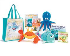 Sponsored: Kohl's Cares Books, Plush Toys and Tote for Just $5 Each! 100% of Net Profits Go To Children's Health and Education!    For $5 you make a child happy, but you are also helping a child in need. #children #toys #poutpoutfish