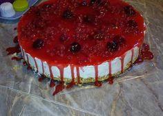 Erdei gyümölcsös sajttorta Pavlova, Macarons, Tiramisu, Mousse, Panna Cotta, Muffin, Breakfast, Ethnic Recipes, Food
