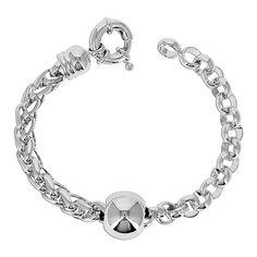 Jaseron Bracelet   Silver by FashionVictime Paris on Brands Exclusive
