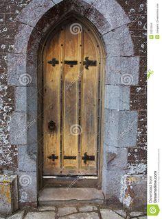 Old Castle Doors | Old antique elizabethan castle manor door. & Old Castle Doors | Door Double Fortress Door Wicked Old Door ... Pezcame.Com