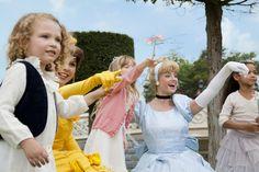 Disneyland Park, Fantasyland - Cinderella & Belle With Young Guests, Disneyland Paris