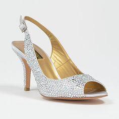 benjamin adams dallas-silver silver  Wedding Shoes