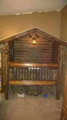 Crib Idea Country Camo & Kinderbett Idea Country Camo & The post Crib Idea Country Camo & & Baby Room Ideas appeared first on Rustic nursery ideas . Camo Nursery, Rustic Nursery, Nursery Room, Nursery Furniture, Nursery Ideas, Children Furniture, Nursery Themes, Hunting Nursery, Cowboy Nursery