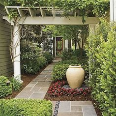Your garden pathway can be a central feature on your property. Now it's time to create an eye-catching garden path that will provide both functionality and aesthetic appeal to your garden. These…MoreMore #LandscapingIdeas