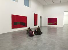 Newport street gallery. Power Stations by John Hoyland.